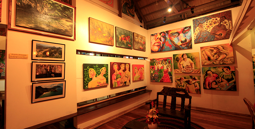 KaLui, a popular restaurant, doubles up as a gallery