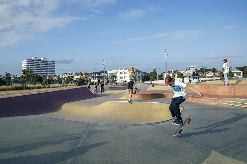 Recreational fun in St Kilda