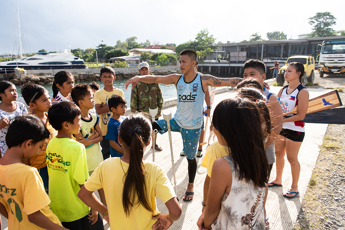 PADS has begun to work with under-13 paddlers to train future team members