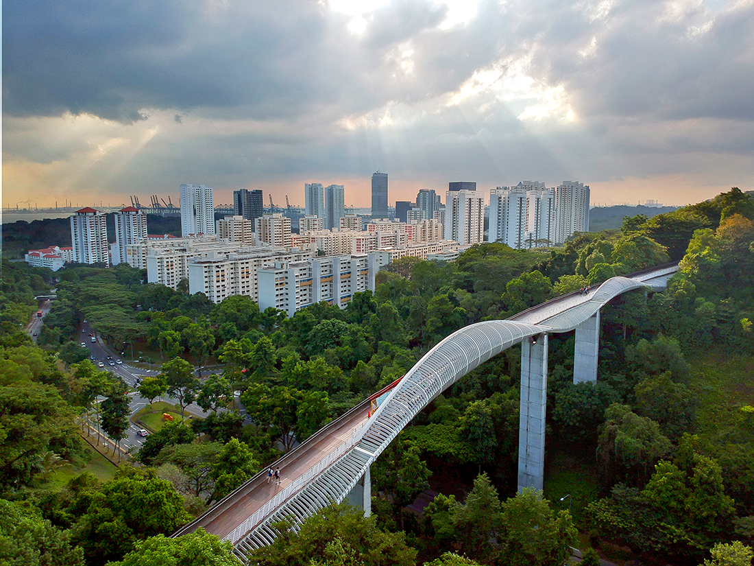 Singapore's Southern Ridges, a 10km trail of connected green spaces