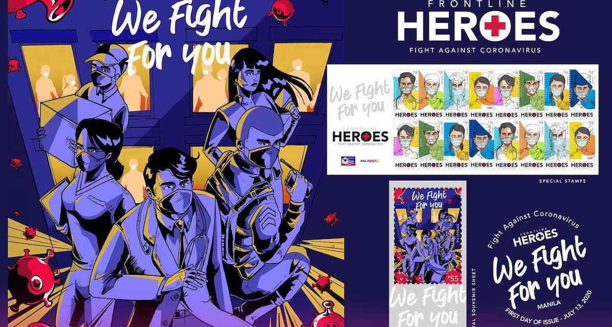 PHLPost Honors COVID-19 Frontline Heroes With Stamps